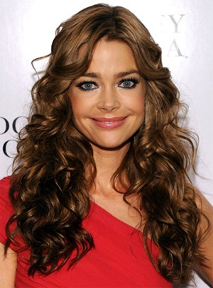 Denise Richards is launching a new haircare line in 2012. The range